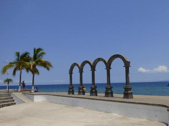 Puerto Vallarta's El Malecon Boardwalk: One of the Famous Statues Along the Malecon
