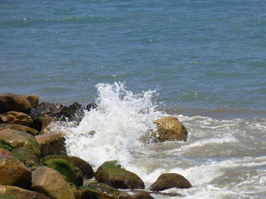 Puerto Vallarta's El Malecon Boardwalk: Waves On the North End of the Malecon