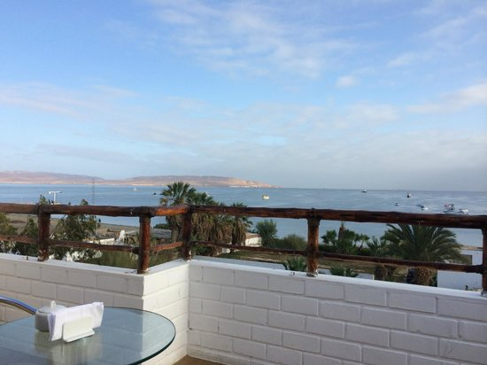 Hotel Gran Palma: Vista desde el comedor (4to piso)