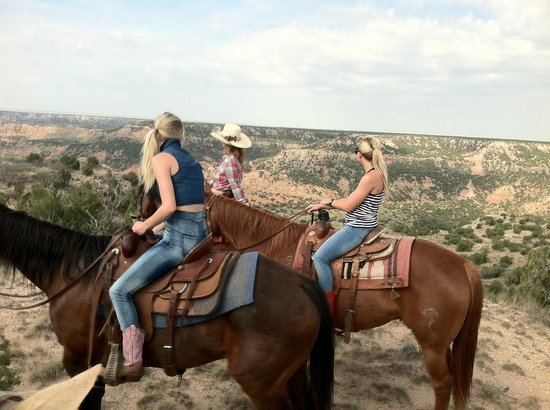 Cowgirls and Cowboys in the West: First ride