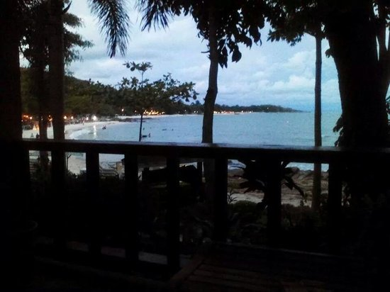 Samed Villa Resort: View from our Seaview Bungalow (#A2)
