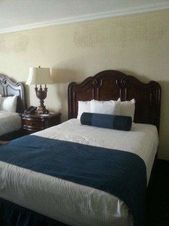 Resorts Casino Hotel: one of two beds