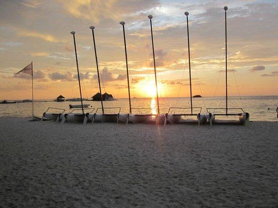 Club Med Kani : sunset