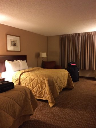 Red Roof Inn Knoxville West - Cedar Bluff : Double Beds