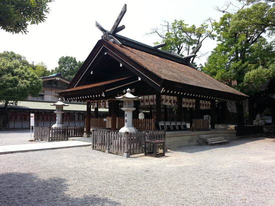 Otori Shrine : 拝殿