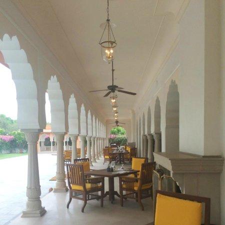 The Oberoi Rajvilas: the Rajmahal Restaurant