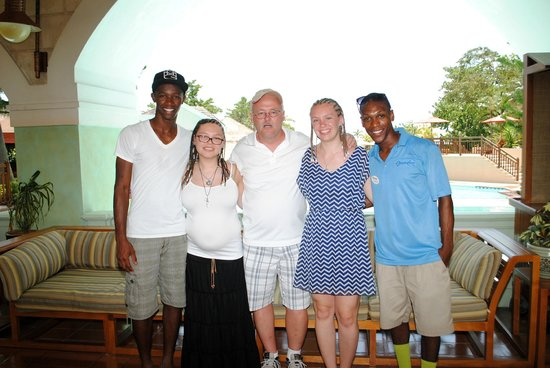 Beaches Negril Resort & Spa: Best entertainment staff ever OShane and Caffry truly made our visit so much more fun.