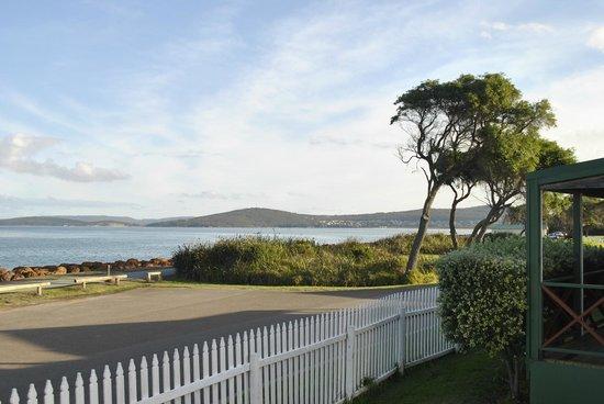 Acclaim Rose Gardens Beachside Holiday Park: Beach Villa view