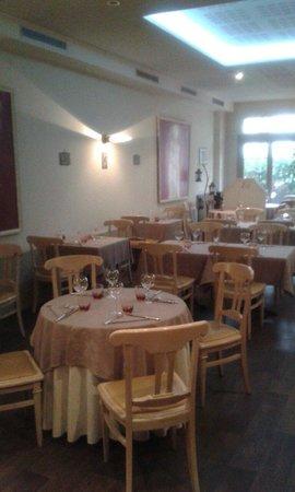 Le Moulin De Mykonos : Notre salle de restaurant