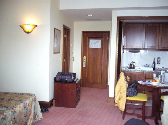 The Jardins d'Ajuda Suite Hotel : certaines chambres sont équipées d'une kitchenette