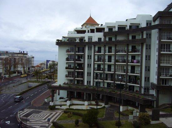 The Jardins d'Ajuda Suite Hotel : vue depuis le balcon de la chambre