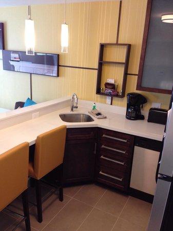 Residence Inn Champaign : Kitchen