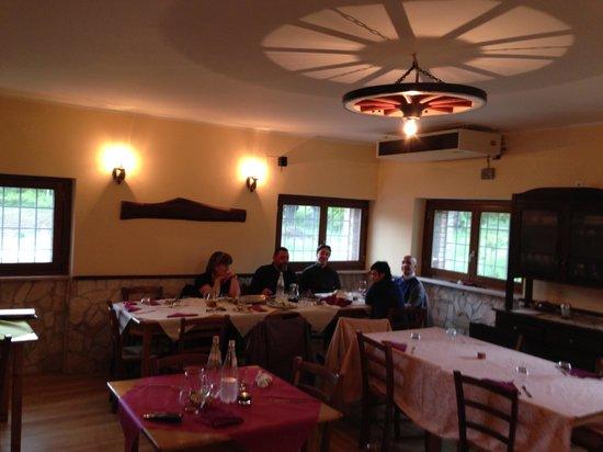 La Ruota Bar Ristorante Pizzeria: sala interna