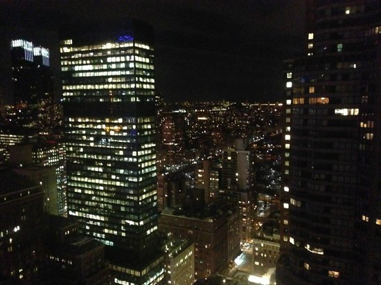 The London NYC: View of Midtown Manhattan