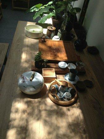 Beijing Wohkoon Hostel-Nan Luo Gu Xiang Branch: tea