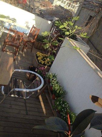 Beijing Wohkoon Hostel-Nan Luo Gu Xiang Branch: terrace