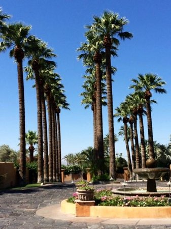 Royal Palms Resort and Spa: Entrance