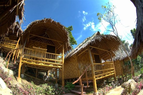 Phi Phi Hill Bamboo Bungalow : PP hill Bamboo Bungalow