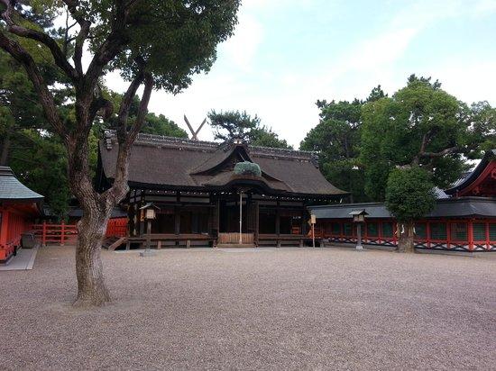 Sumiyoshi Taisha Shrine: 幣殿