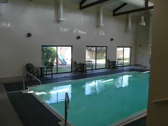 Quality Inn & Suites: indoor pool and outdoor play area