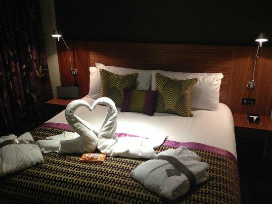 Apex London Wall Hotel: 蜜月專屬