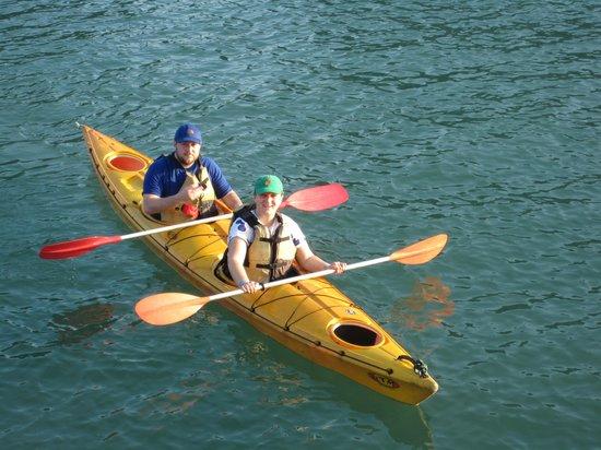 Impress Travel Company Limited - Day Tours: Kayaking Ha Long Bay