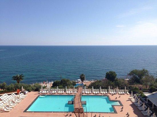 Domina Coral Bay Sicilia Zagarella : Vue de la chambre au 5eme étage