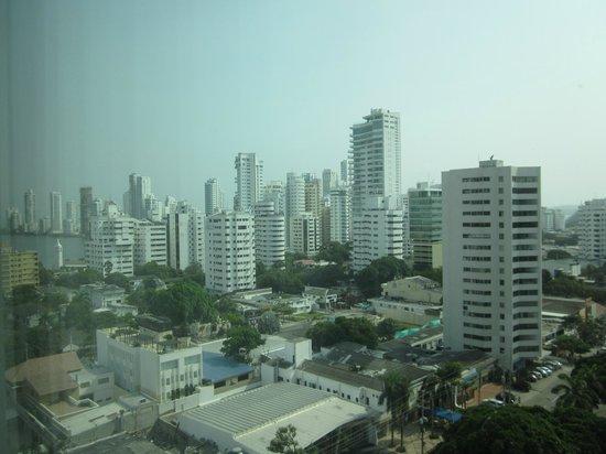 Hampton by Hilton Cartagena: View from the lobby