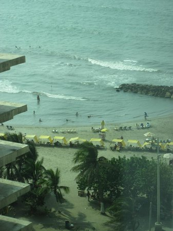Hampton by Hilton Cartagena : View from our room
