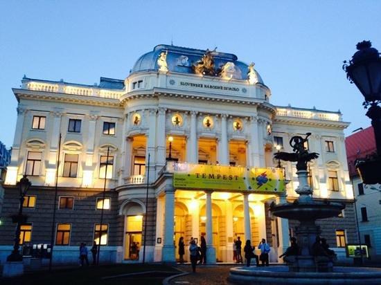 Slovak National Theatre: театр