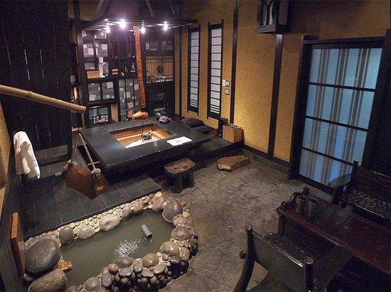 Takefue: Вход в домик.