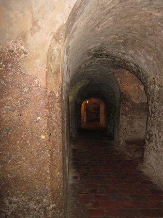 Château de San Felipe de Barajas : Underground tunnels