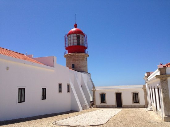 Cape Saint Vincent: Cour du Phare
