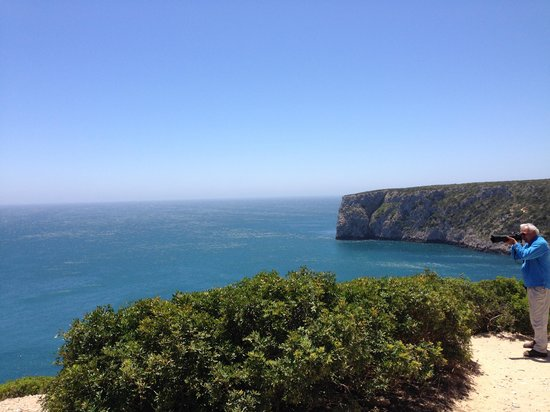 Cape Saint Vincent: Site photo sur les falaises