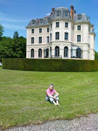 Château la Canière : voici le parc