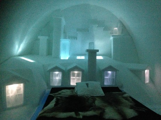 Icehotel: cold room