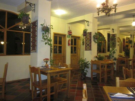 La Posada del Quinde: Restaurant