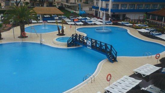 Tahití Playa Hotel: вид с балкона днем