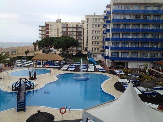 Tahití Playa Hotel: Вид с балкона