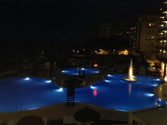 Tahiti Playa Hotel : Ночной вид с балкона