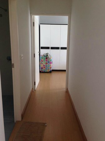 At Sea: Hallway to the Bedroom