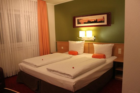 Leonardo Hotel Nurnberg: Наш номер