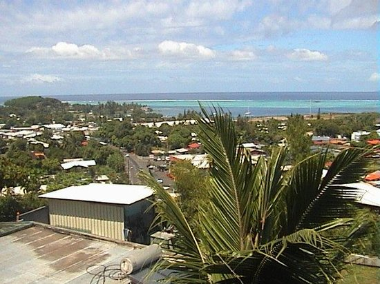 Tahiti Airport Lodge : View from the Lodge