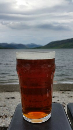 The Arch Inn: Enjoy an ale and admire the view