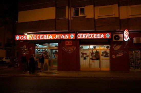 Cerveceria Juan: Straßenansicht