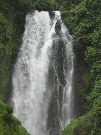 Peguche Waterfall: The waterfall
