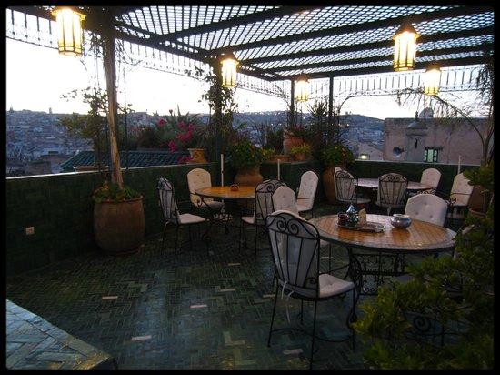 Riad La Maison Verte : Rooftop terrace
