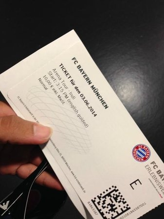 Allianz Arena: 10 Euro Ticket