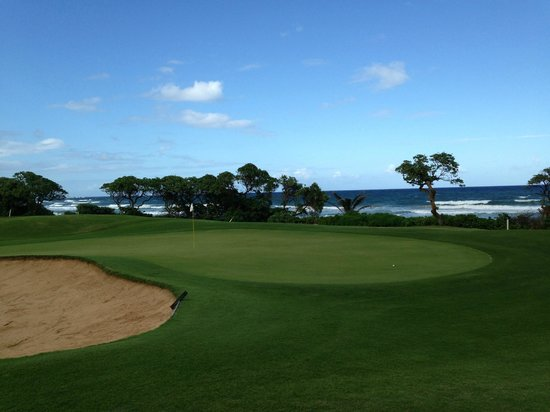 Wailua Golf Course: Beach Hole
