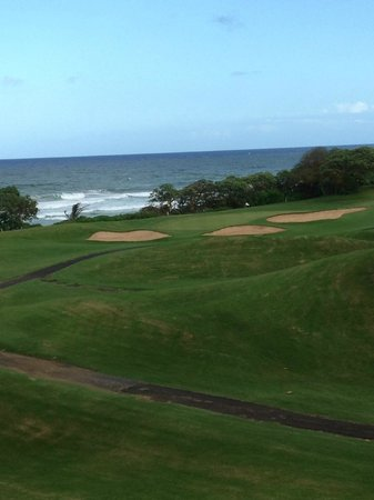 Wailua Golf Course: Par 3 on Beach